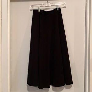 A line cotton skirt
